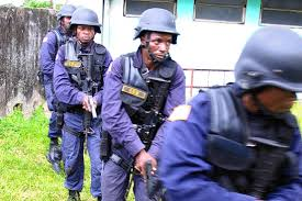 Liberian Police Photo: NEW AFRICA DAILY NEWS