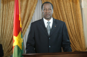 Burkina Ex President  Blaise Compaore