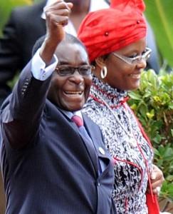 President Mugabe & Grace