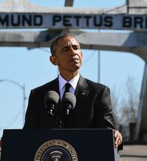 President Obama in Selma, Alabama