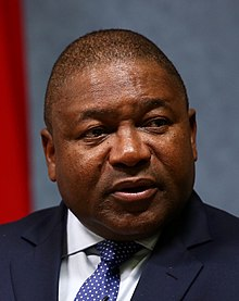 President Filipe Nyusi of Mozambique Photo Credit: Wikipedia