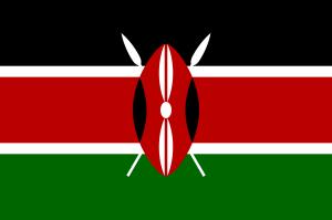 Kenya's National Flag Photo Credit: Wikipedia